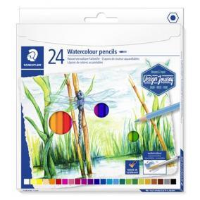 Akvarell ceruza készlet, hatszögletű, STAEDTLER