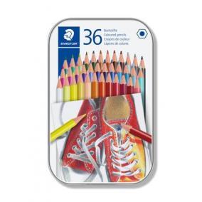 Színes ceruza készlet, hatszögletű, STAEDTLER, 36 különböző szín [36 db]