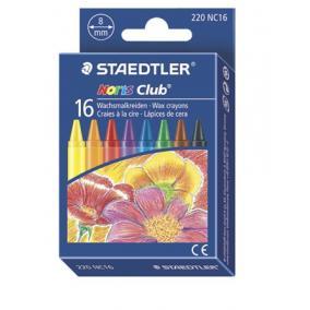Zsírkréta, STAEDTLER Noris Club, 16 különböző szín