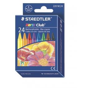 Zsírkréta, STAEDTLER Noris Club, 24 különböző szín