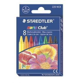 Zsírkréta, STAEDTLER Noris Club, 8 különböző szín