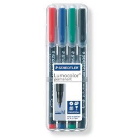 Alkoholos marker készlet, OHP, 1 mm, STAEDTLER