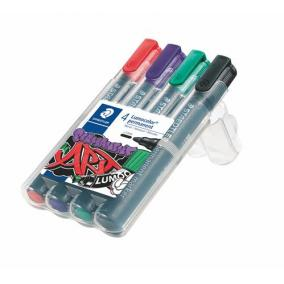 Alkoholos marker készlet, 2 mm, kúpos, STAEDTLER