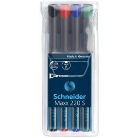 Alkoholos marker készlet, OHP, 0,4 mm, SCHNEIDER