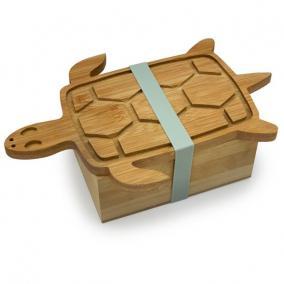 Teknős formájú tofu sajtoló