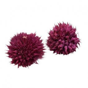 Szárított virágfej rózsaszín [15 db]