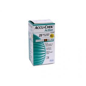 Tesztcsík Accu-Chek Active Glucose 25