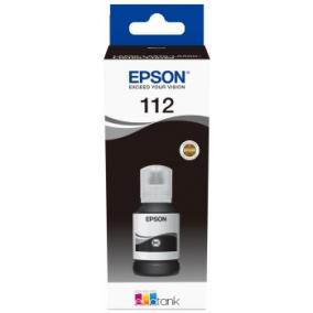 Epson T06C1 [Bk] EcoTank 112 tintapatron (eredeti, új)