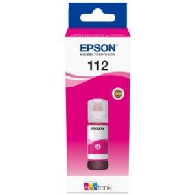 Epson T06C3 [M] EcoTank 112 tintapatron (eredeti, új)