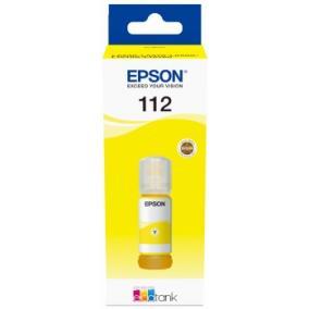 Epson T06C4 [Y] EcoTank 112 tintapatron (eredeti, új)
