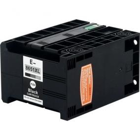 Epson T8651 kompatibilis [Bk] 10k tintapatron (ForUse)