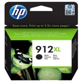 HP 3YL84AE [Bk] #No.912XL tintapatron (eredeti, új)