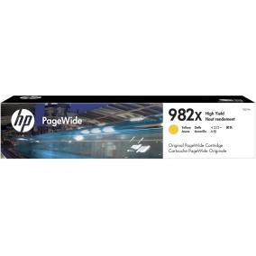 HP T0B29A PageWide [Y] #No.982X tintapatron (eredeti, új)