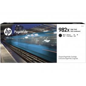 HP T0B30A PageWide [Bk] #No.982X tintapatron (eredeti, új)