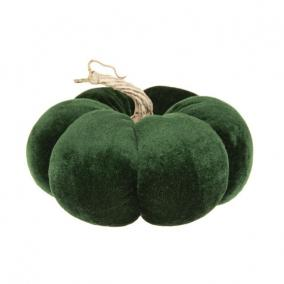 Tök bársony 15 cm x 10 cm zöld