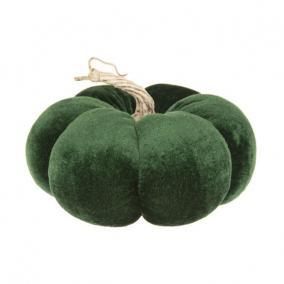 Tök bársony 19 cm x 12 cm zöld