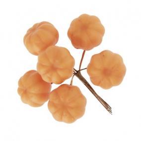 Tök csokorban betűzős hungarocell 3,2 cm x 10 cm narancs