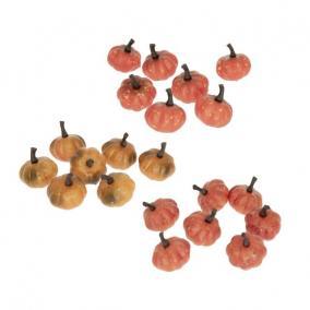 Tök hungarocell 2,5cm narancs,piros 3 féle [7 db]