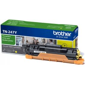 Brother TN 247 [Y] toner [2,3k] (eredeti, új)