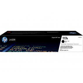 HP W2070A [BK] #No.117A toner (eredeti, új)