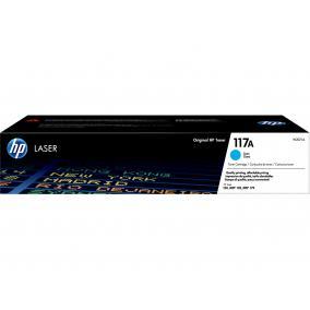 HP W2071A [C] #No.117A toner (eredeti, új)