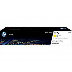 HP W2072A [Y] #No.117A toner (eredeti, új)