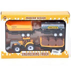 Traktor szett 3 féle vontatmánnyal