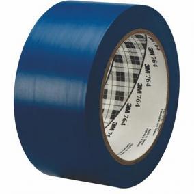Ipari jelzőszalag, 50mm x 33m, 3M, kék [33 méter]