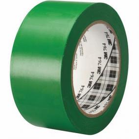 Ipari jelzőszalag, 50mm x 33m, 3M, zöld [33 méter]