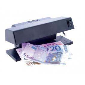 Bankjegyvizsgáló, UV lámpa, 195x82x82 mm,