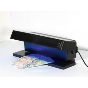 Bankjegyvizsgáló, UV lámpa, 270x120x105 mm