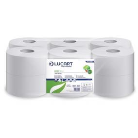 Toalettpapír, 2 rétegű, 120 m, 19 cm átmérő, LUCART,