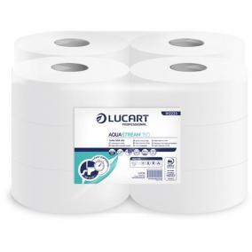 Toalettpapír, 2 rétegű, nagytekercses, 150 m,  19 cm átmérő, LUCART