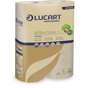 Toalettpapír, 3 rétegű, kistekercses, 27,5 m, LUCART