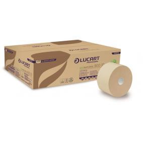 Toalettpapír, 2 rétegű, nagytekercses, 19 cm átmérő, LUCART