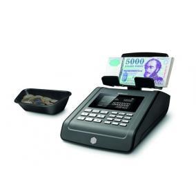 Bankjegyszámláló, HUF, EUR, USD bankjegyek, SAFESCAN