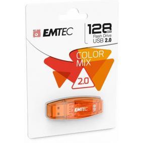 Pendrive, 128GB, USB 2.0, EMTEC