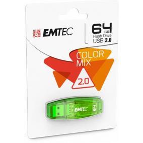 Pendrive, 64GB, USB 2.0, EMTEC