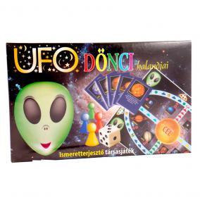 UFO Dönci kalandjai társasjáték