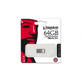 Pendrive, 64GB, USB 3.1, 100/15MB/s, KINGSTON