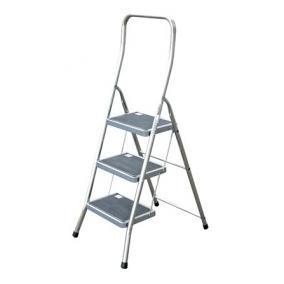 Fellépő, 2 lépcsőfokos, alumínium, KRAUSE