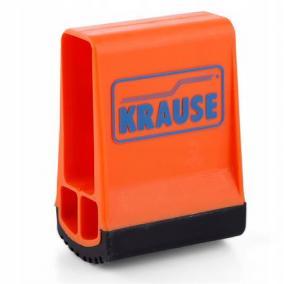Lábdugó, kétkomponensű, létra kitámasztóhoz, 64x25 mm, KRAUSE, narancssárga