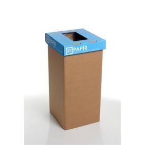 Szelektív hulladékgyűjtő, újrahasznosított, 20 l, RECOBIN