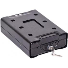 Értéktároló, mobil, 1,1 l, 70x160x220 mm, KINGSAFE