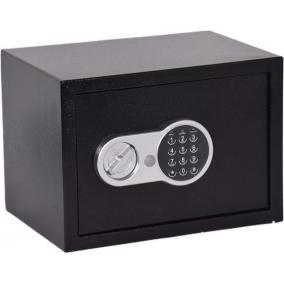 Lemezszekrény, elektronikus zár, 17,3 l, 250x350x250 mm, KINGSAFE