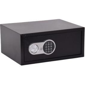 Lemezszekrény, elektronikus zár, 26,5 l, 200x450x350 mm, KINGSAFE