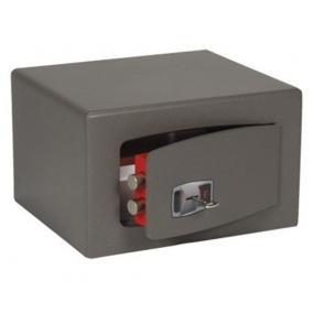 Bútorszéf, kulcsos zár, 9 l, 220x280x200 mm, TECHNOMAX