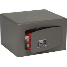 Bútorszéf,kulcsos zár, 19 l, 220x350x300 mm, TECHNOMAX