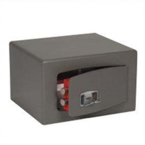 Bútorszéf, kulcsos zár, 31 l, 280x400x350 mm, TECHNOMAX