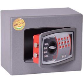 Bútorszéf, elektronikus zár, 6 l, 220x280x150 mm, TECHNOMAX